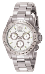 Invicta Men's 7025 Signature Quartz Chronograph White Dial Watch