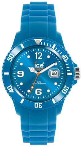 Ice-Watch Unisex SS.FB.U.S.11 Blue Silicone Quarts Watch with Blue Dial