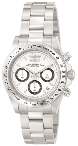 Invicta Men's 9211 Speedway Quartz Chronograph White Dial Watch