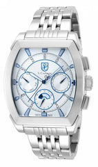 S. Coifman Men's SC0093 Quartz Chronograph Silver Dial  Watch