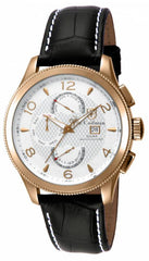 S. Coifman Men's SC0109 Quartz Multifunction Metallic White Dial  Watch
