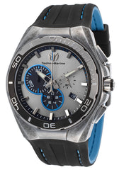 Technomarine Men's TM-112007 Steel Evolution Quartz Multifunction Gray Dial Watch