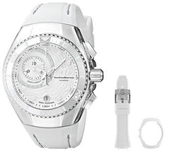 Technomarine Men's TM-114032 Cruise One Quartz Multifunction White Dial Watch