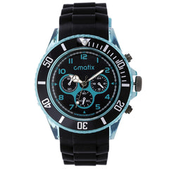 Cmatix Unisex Onyx Mint Watch [UMB-SW-163-B2-11]