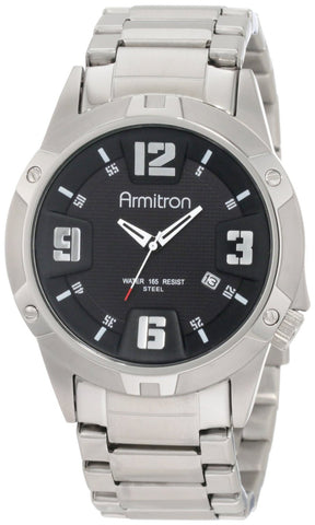 Armitron Mens Watch 204692BKSV