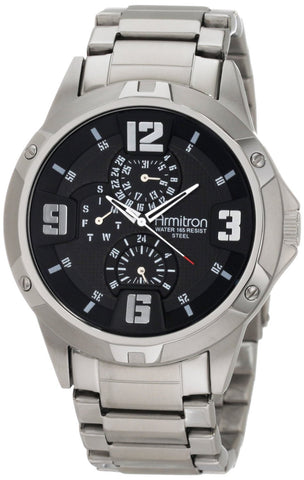 Armitron Mens Watch 20/4775BKSV