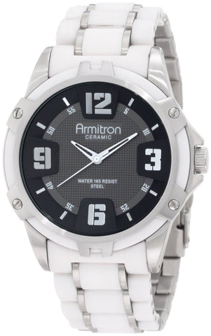 Armitron Mens Watch 20/4718BKWT