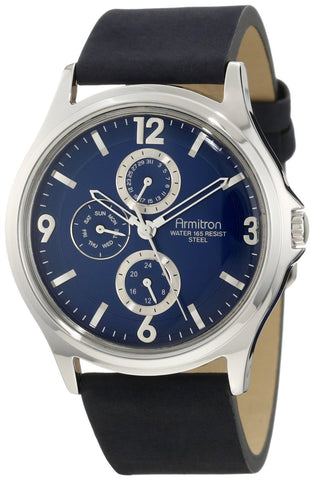 Armitron Mens Watch 20/4858BLSVBL