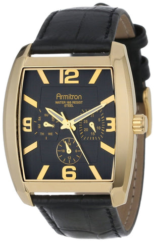 Armitron Mens Watch 20/4877BKGPBK