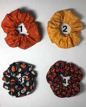 Load image into Gallery viewer, Spooky Halloween Scrunchies