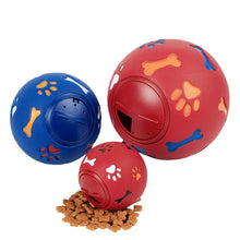 Load image into Gallery viewer, Rubber Chew Ball Teething Training Toy