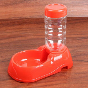Automatic Food Water Pet Feeder