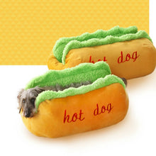 Load image into Gallery viewer, Cozy Hot Dog Bed