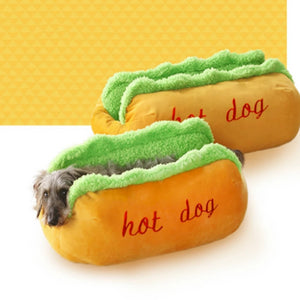 Cozy Hot Dog Bed