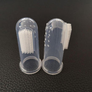 Soft Silicone Pet Finger Toothbrush