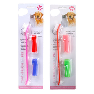 Toothpaste & Finger Toothbrush Set