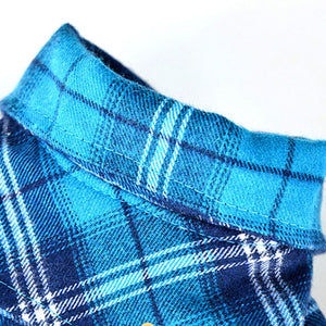 Warm Pet Plaid Jacket