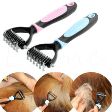 Load image into Gallery viewer, Pet Fur Knot Cutter Rake Comb
