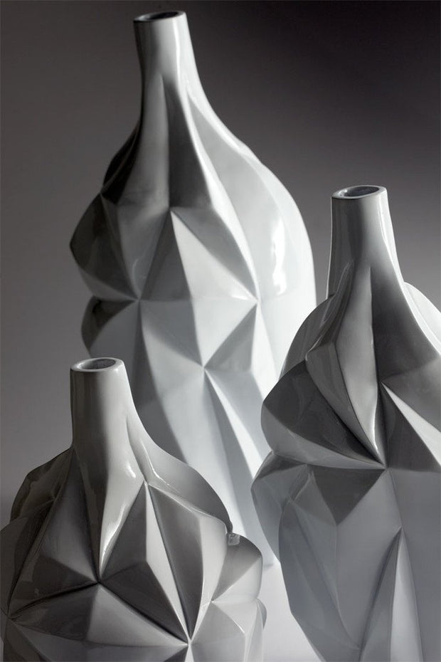 Glacier Vase in Assorted Sizes design by Cyan Design