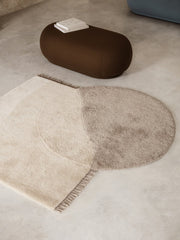 View Tufted Rug in Beige by Ferm Living
