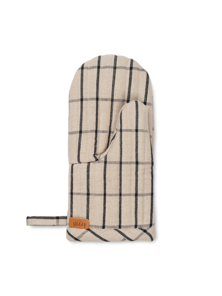 Hale Yarn-Dyed Oven Mitt by Ferm Living by Ferm Living