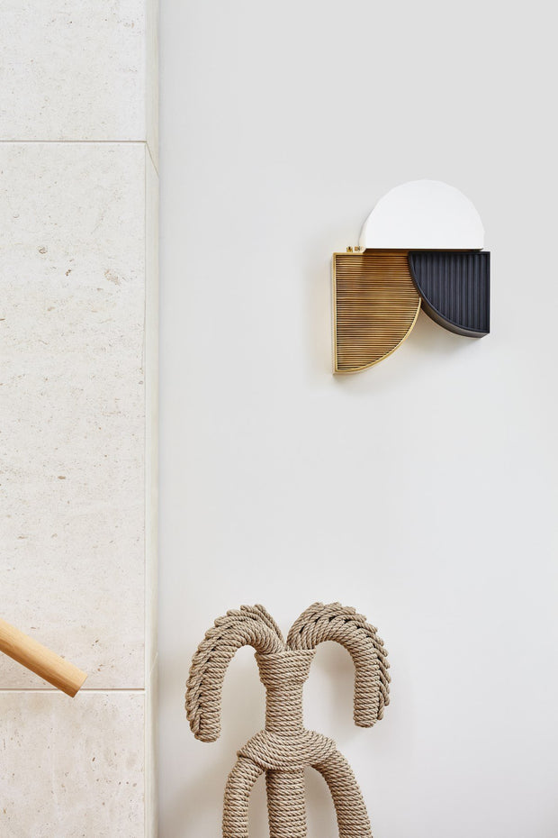 Construct Wall Sconce