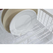 Tosca Dish Drying Rack - White Steel by Yamazaki