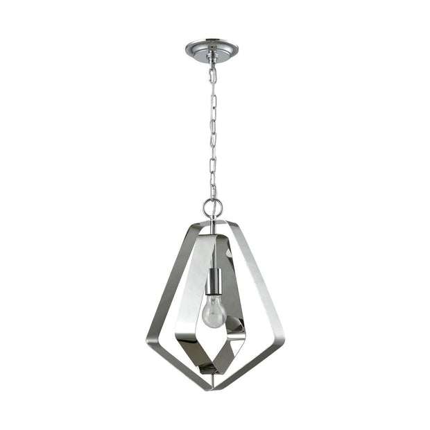 Anguluxe 1 Pendant in Polished Chrome