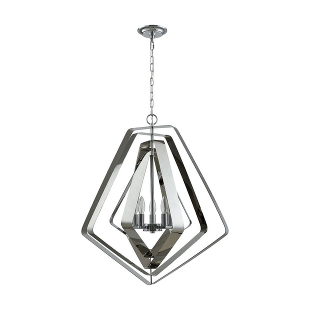 Anguluxe 5 Pendant in Polished Chrome