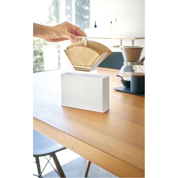 Tower Coffee Filter Case by Yamazaki