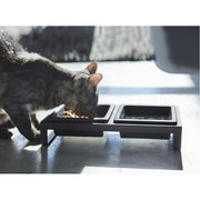 Tower Pet Food Bowl with Stand by Yamazaki