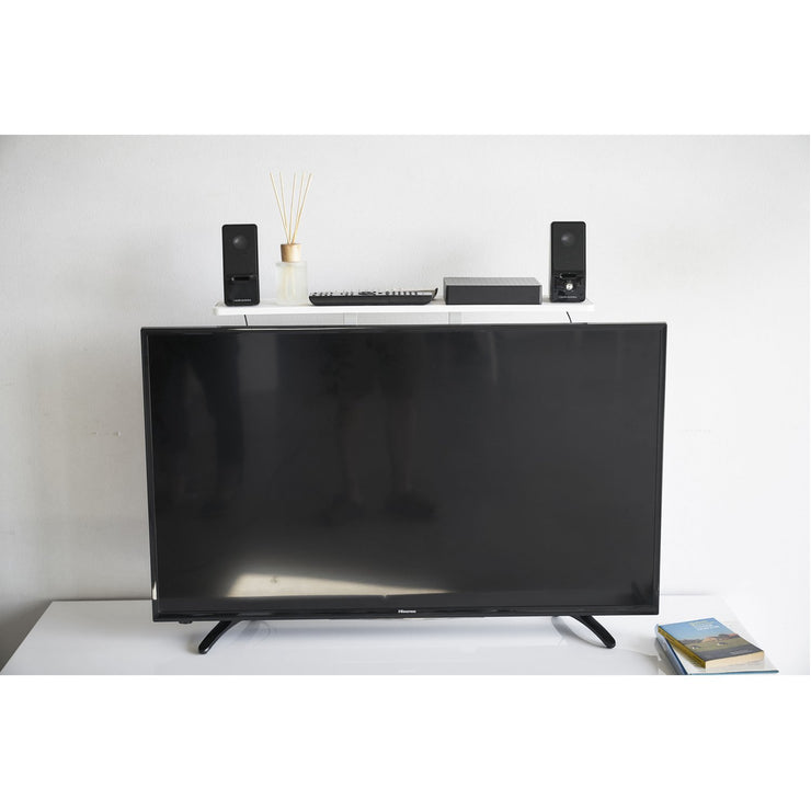 Smart VESA-Compliant TV Shelf by Yamazaki
