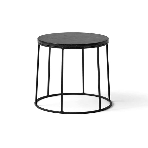 Wire Marble Top in Black design by Menu