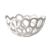 Medium Perforated Porcelain Bowl design by Lazy Susan
