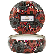 3 Wick Decorative Candle in Persimmon & Copal design by Voluspa
