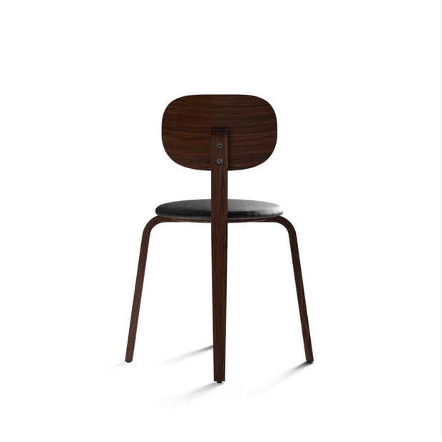 Afteroom Plus, Plywood Base Dining Chair, Upholstered