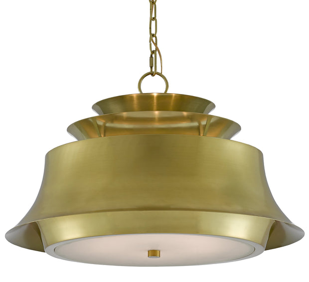 Altson Brass Pendant by Currey & Company