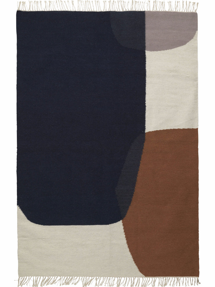 Kelim Rug in Merge by Ferm Living