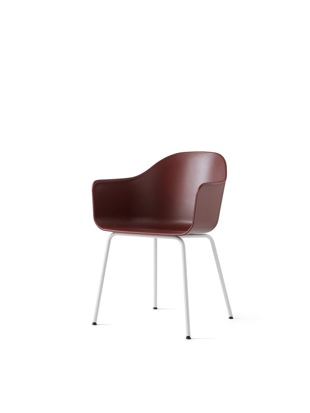 Harbour Chair, Steel Legs + Plastic Shell in Assorted Colors