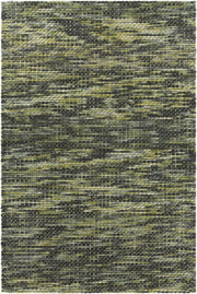 Argos Collection Hand-Woven Area Rug in Cream & Green