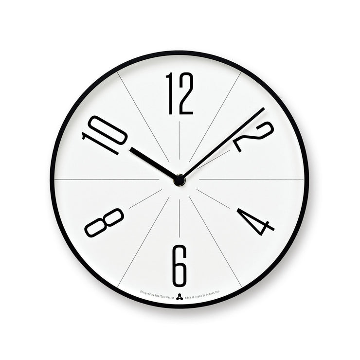 GUGU Clock in Black