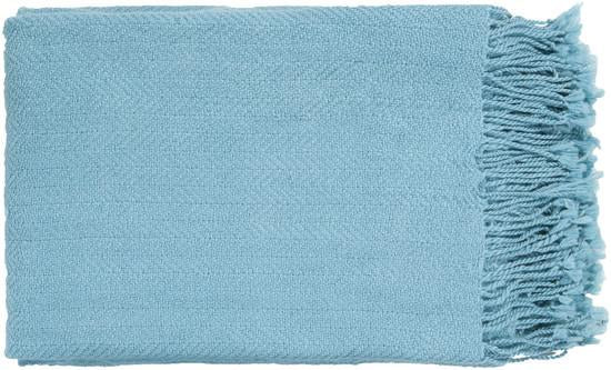 Acrylic Throw in Sky Blue from the Turner Collection by Surya - BURKE DECOR