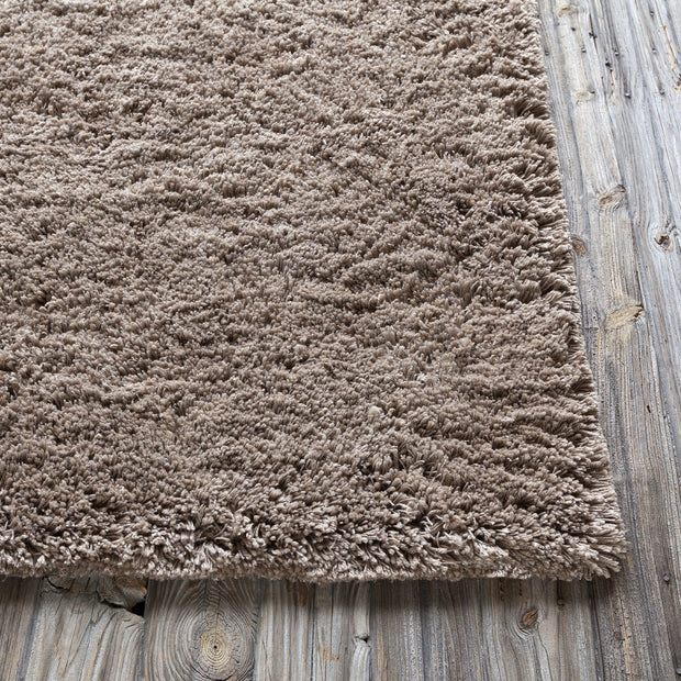 Bancroft Collection Hand-Woven Area Rug in Taupe