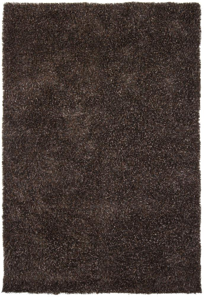 Barun Collection Hand-Woven Area Rug in Brown, Blue, & Ivory