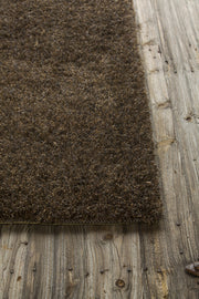 Barun Collection Hand-Woven Area Rug in Brown, Purple, & Gold