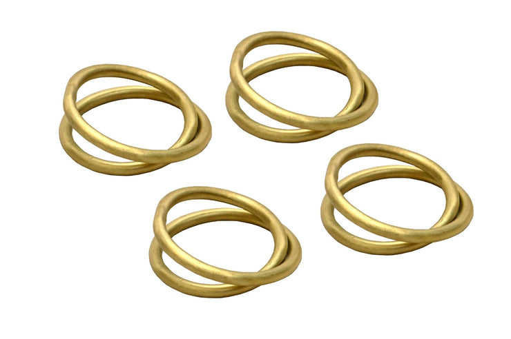 Deka Napkin Rings (set of 4) by BD Edition I