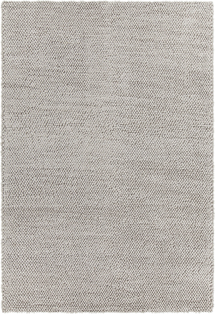 Burton Collection Hand-Woven Area Rug in Grey