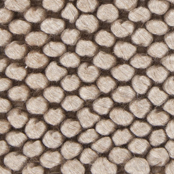 Burton Collection Hand-Woven Area Rug in Taupe