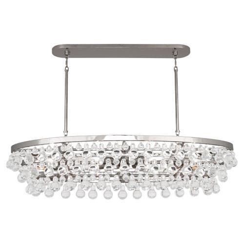 Bling Collection Oval Chandelier design by Robert Abbey