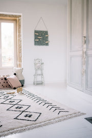 Bereber Rug in Rhombs design by Lorena Canals